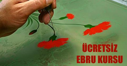 İsmek Ebru Kursu