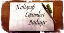 Türkçe Kaligrafi Eğitimi