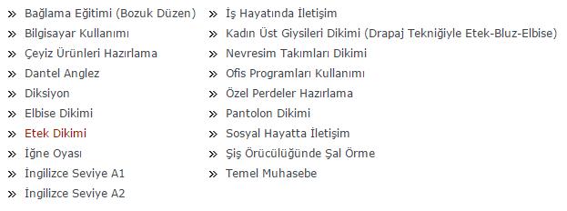 Firuzköy Ücretsiz Kurs