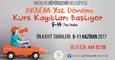Antalya Yaz Kursları